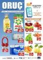 Oruç Market 25 Şubat - 07 Mart 2021 Kampanya Broşürü! Sayfa 1