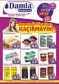 Damla Market 26 Şubat - 09 Mart 2021 Kampanya Broşürü! Sayfa 1