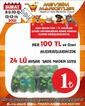 Mevsim Marketler Zinciri 08 - 14 Şubat 2021 Kampanya Broşürü! Sayfa 1