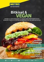 Metro Türkiye 2021 Bitkisel & Vegan Kampanya Broşürü!