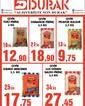 Durak Gıda 08 Mart 2021 Kampanya Broşürü! Sayfa 1