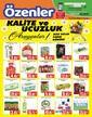 Özenler Market 05 - 25 Mart 2021 Kampanya Broşürü! Sayfa 1 Önizlemesi