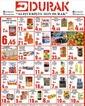 Durak Gıda 03 Mart 2021 Kampanya Broşürü! Sayfa 1