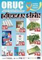 Oruç Market 25 Mart - 04 Nisan 2021 Kampanya Broşürü! Sayfa 1