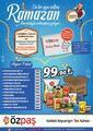 Özpaş Market 19 Mart - 12 Mayıs 2021 Ramazan Paketi Fırsatları Sayfa 1 Önizlemesi