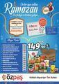 Özpaş Market 19 Mart - 12 Mayıs 2021 Ramazan Paketi Fırsatları Sayfa 2 Önizlemesi