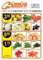 Gümüş Ekomar Market 27 Mart - 01 Nisan 2021 Kampanya Broşürü! Sayfa 1