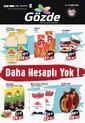 Gözde Market 12 - 18 Mart 2021 Kampanya Broşürü! Sayfa 1