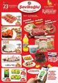 Şevikoğlu Market 14 - 30 Nisan 2021 Kampanya Broşürü! Sayfa 1