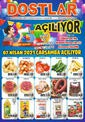 Dostlar Hipermarket 07 Nisan 2021 Altınova 2 Mağazasına Özel Kampanya Broşürü! Sayfa 1