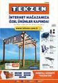 Tekzen 01 - 30 Nisan 2021 İnternet Mağazasına Özel Kampanya Broşürü! Sayfa 1 Önizlemesi
