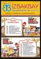 İzbakbay 13 - 23 Nisan 2021 Kampanya Broşürü! Sayfa 1 Önizlemesi