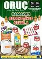 Oruç Market 08 - 18 Nisan 2021 Kampanya Broşürü! Sayfa 1