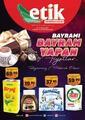 Etik Market 01 - 13 Mayıs 2021 Kampanya Broşürü! Sayfa 1