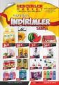 Gençerler Market 09 - 25 Haziran 2021 Kampanya Broşürü! Sayfa 1 Önizlemesi