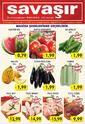 Savaşır Market 30 Haziran - 06 Temmuz 2021 Manisa Şubeleri Kampanya Broşürü! Sayfa 1