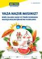 Metro Türkiye 03 - 16 Haziran 2021 Yaza Hazırlık Kampanya Broşürü! Sayfa 1 Önizlemesi