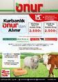 Onur Market 15 - 28 Temmuz 2021 Marmara Bölge Kampanya Broşürü! Sayfa 1