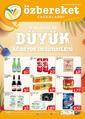 Öz Bereket Gıda 19 - 26 Ağustos 2021 Kampanya Broşürü! Sayfa 1