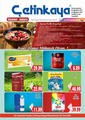Çetinkaya 16 - 31 Ağustos 2021 İstanbul-Ankara Kampanya Broşürü! Sayfa 1