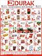 Durak Gıda 01 - 15 Ağustos 2021 Kampanya Broşürü! Sayfa 1