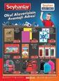 Seyhanlar Market 27 Ağustos - 30 Eylül 2021 Kampanya Broşürü! Sayfa 1