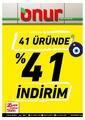 Onur Market 09 - 21 Eylül 2021 Marmara Bölge Kampanya Broşürü! Sayfa 1 Önizlemesi