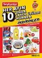Seyhanlar Market 10 Eylül 2021 Kampanya Broşürü! Sayfa 1