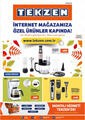 Tekzen 01 - 30 Eylül 2021 İnternete Özel Kampanya Broşürü! Sayfa 1 Önizlemesi