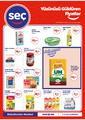 Seç Market 22 - 28 Eylül 2021 Kampanya Broşürü! Sayfa 1 Önizlemesi