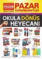 Pazar Süpermarketler 01 - 20 Eylül 2021 Okula Dönüş Kampanya Broşürü! Sayfa 1