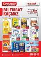 Seyhanlar Market 16 - 29 Eylül 2021 Kampanya Broşürü! Sayfa 1