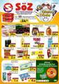 Söz Toplu Tüketim Mağazaları 01 - 12 Eylül 2021 Kampanya Broşürü! Sayfa 1