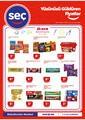Seç Market 08 - 14 Eylül 2021 Kampanya Broşürü! Sayfa 1 Önizlemesi
