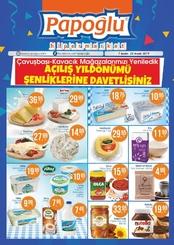 Papoğlu Market 07 - 23 Aralık 2019 Kampanya Broşürü!