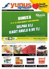 Yunus Market 16 - 31 Ekim 2019 Kampanya Broşürü!